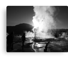 El Tatio at sunrise 2 Canvas Print