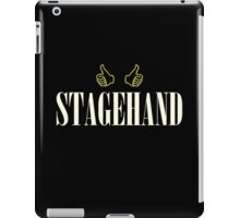 Vintage Stagehand iPad Case/Skin
