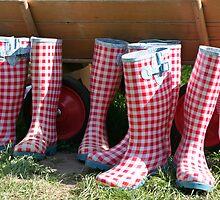 Rubber Boots by Stefanie Köppler