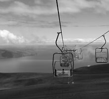 Chairlift at Osorno Volcano by Helen Morton