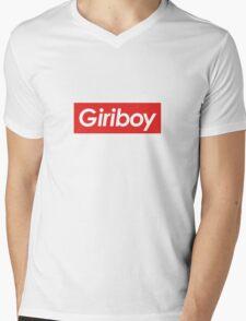 Giriboy Mens V-Neck T-Shirt