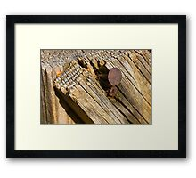 Hanging Out at the Joint Framed Print