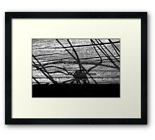 Wire Knot Framed Print