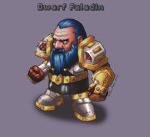 Dwarf Paladin T-Shirt by Brian Farrar