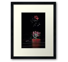 Point Walter Fireworks  Framed Print