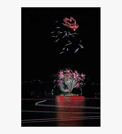 Point Walter Fireworks  Photographic Print