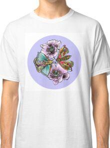 Moth Mandala  Classic T-Shirt