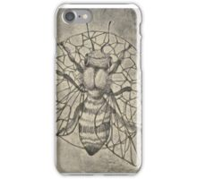 Bee etching  iPhone Case/Skin