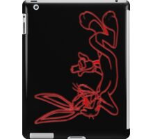 Unforgettable glowing characters ! iPad Case/Skin
