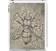 Bee etching  iPad Case/Skin