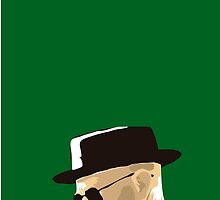 Cartoon Water Color Breaking Bad Heisenberg by CooliPhones