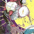 Demon 7 acrylic by tofnewrealm