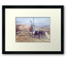 Algeria Tamanrasset Framed Print