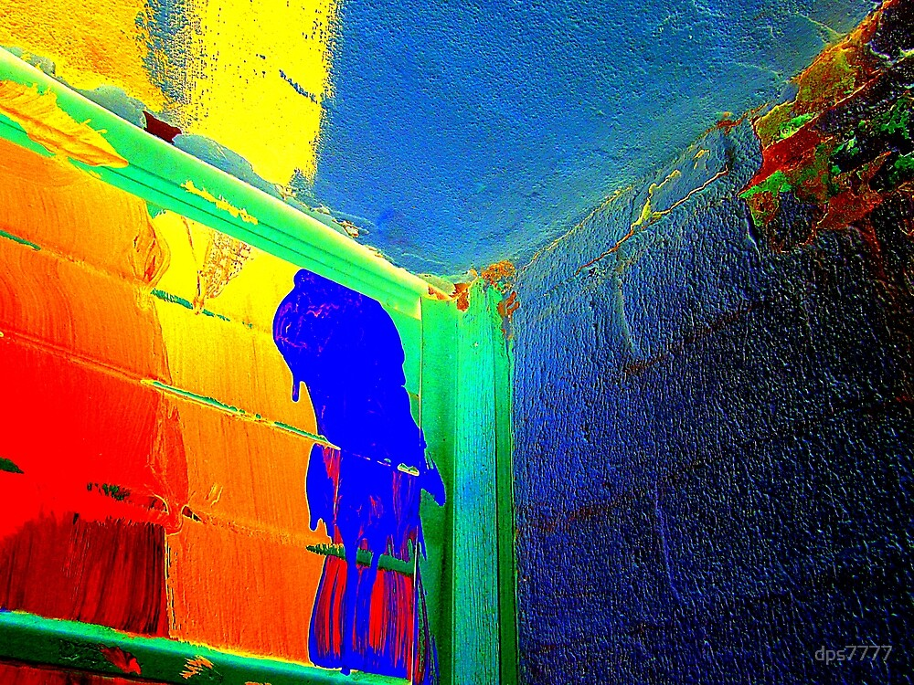 Paint Smears #2 by David Schroeder
