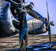 Wright Cyclone R-3350 by Chris L Smith