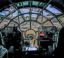 B29 Cockpit view by Chris L Smith