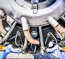 Continental R-670 engine by Chris L Smith