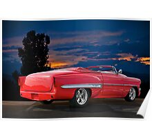 1954 Chevrolet Bel Air Convertible Poster