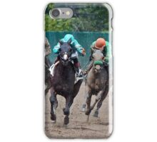 Horses Racing on the Track  iPhone Case/Skin