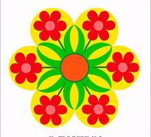 FLOWERS IN A FLOWER by RainbowArt