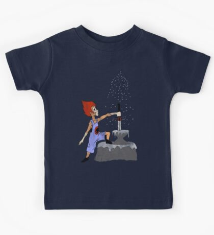 The Cat and the Stone Kids Tee