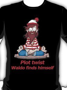 Plot Twist - Waldo Finds Himself  T-Shirt