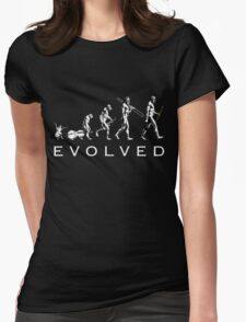 Clarinet Evolution Womens Fitted T-Shirt