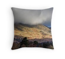 Light Across the Hills Throw Pillow