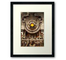 Locomotive 2562 Framed Print