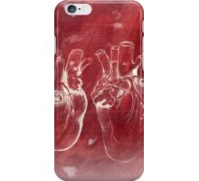 Anatomical study of human heart - Pen and ink iPhone Case/Skin
