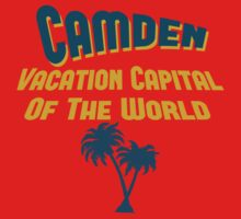 Camden Vacation Capital by Location Tees