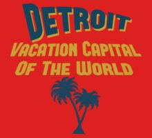 Detroit Vacation Capital One Piece - Short Sleeve