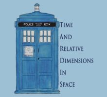 Time And Relative Dimensions In Space. by trumanpalmehn