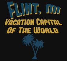 Flint Vacation Capital Baby Tee