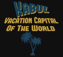 Kabul Vacation Capital Baby Tee