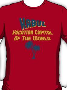 Kabul Vacation Capital T-Shirt