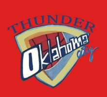 Oklahoma City Thunder by nbatextile
