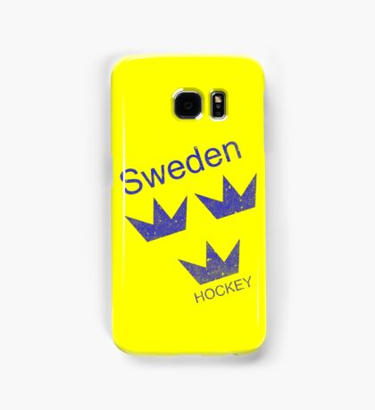 Sweden Hockey Samsung Galaxy Case/Skin
