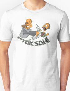 Klingon Bart and Homer T-Shirt