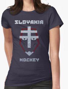 Slovakia Hockey Womens Fitted T-Shirt