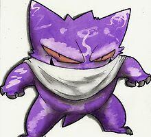Fight Club Edition Gengar by ChocolateBear