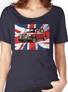 Cool Britannia Austin Mini  Women's Relaxed Fit T-Shirt
