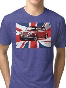 Cool Britannia Austin Mini  Tri-blend T-Shirt