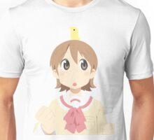 Nichijou's Yuuko with Bird Unisex T-Shirt