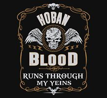 HOBAN blood runs through your veins T-Shirt