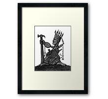 Local Tyrant  Framed Print