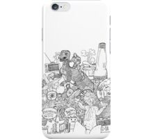 dinosaurs in the soda iPhone Case/Skin