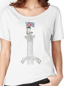 Pigeon Patriot Women's Relaxed Fit T-Shirt