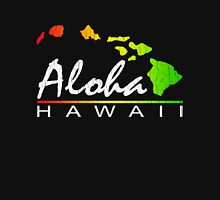 ALOHA - Hawaiian Islands (vintage distressed design) Unisex T-Shirt