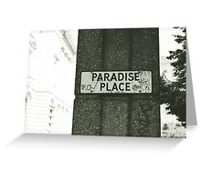 This is Paradise? Greeting Card